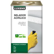 Selador Acrílico Luxens Branco 18L