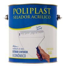 Selador Acrílico Poliplast 3,6 litros Universo