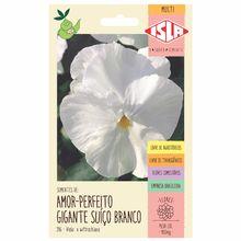 Semente Amor-Perfeito Gigante Suíço Branco Isla Sementes