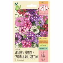 Semente Verbena Híbrida/Camaradinha Sortida Isla Sementes