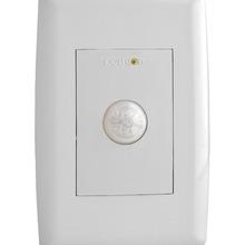Sensor de Presença Microc. de embutir 4x2 é um comando inteligente que se destina ao acionamento de cargas temporizadas.