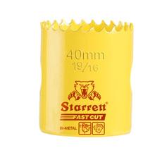 """Serra Copo Bimetal 40mm 1.9/16"""" Starrett"""
