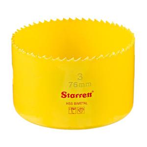 """Serra Copo Bimetal 76mm 3"""" Starrett"""
