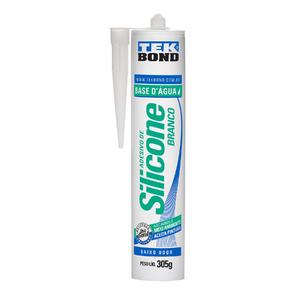 Silicone Vedação B`Agua Banheiro 305g Branco Tekbond