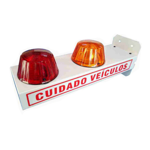 Sinalizador para Garagem LED com Bip Sonoro Bivolt DNI