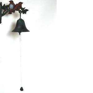 Sino Pássaros Ferro 18x10x15cm Cinza