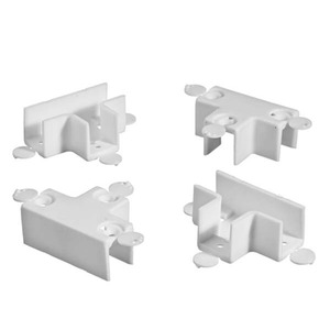 Sistema UNE com 4 peças Branco para 15mm Settis