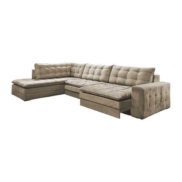 Swell Sofa Retratil 4 Lugares Bege Com Diva Scorpius Leroy Merlin Pdpeps Interior Chair Design Pdpepsorg