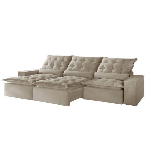 Astounding Sofa Retratil E Reclinavel 5 Lugares Bege 2 90M Lucan Plus Pdpeps Interior Chair Design Pdpepsorg