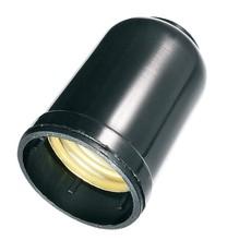 SOQUETE P/LAMPADA INCANDESCENTE TERMOPLASTICO CASTICAL MONOBLOCO PRETO 250V 2A E27