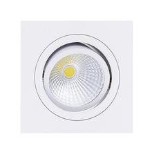 Spot de Embutir LED Diamante Quadrado Alumínio Branco 3W Bivolt