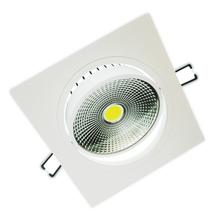 Spot de Embutir LED Diamante Quadrado Alumínio Branco 7W Bivolt