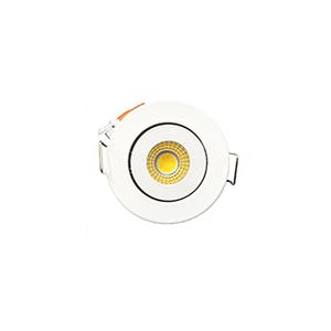 Spot de Embutir LED Luz Amarela 3W Bivolt Delis