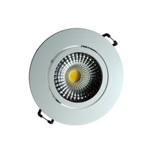 Spot de Embutir LED Luz Amarela 7W Bivolt Diamante