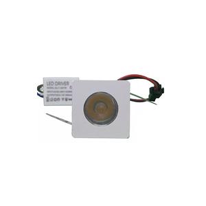 Spot de Embutir LED Luz Branca 1,2W Bivolt Luz Sollar