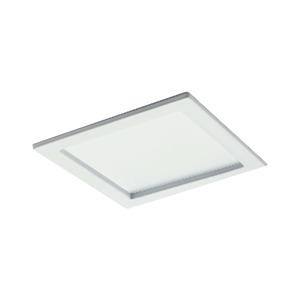 Spot de Embutir LED Bonin Quadrado Metal Branco 14W Bivolt