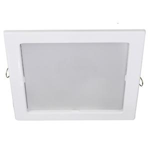 Spot de Embutir LED Bonin Quadrado Metal Branco 9W Bivolt