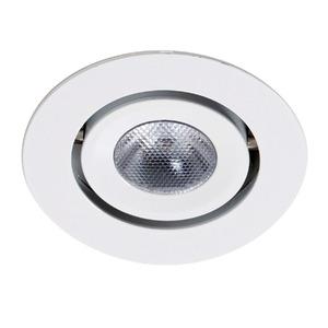 Spot de Embutir LED Ourolux Redondo Alumínio Branco 2,5W Bivolt