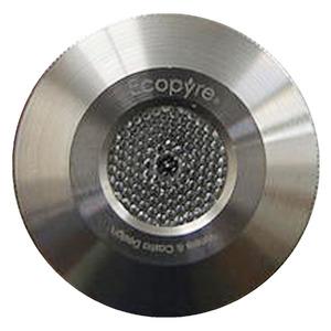 Spot de Embutir LED Ecopyre Ignis Subaquático Redondo Alumínio Prata Bivolt