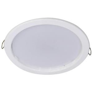 Spot de Embutir LED Bonin Redondo Metal Branco 9W Bivolt