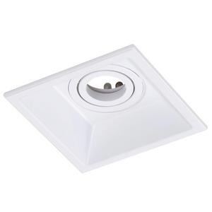 Spot de Embutir Bella Iluminação Quadrado Alumínio Branco 35W Bivolt