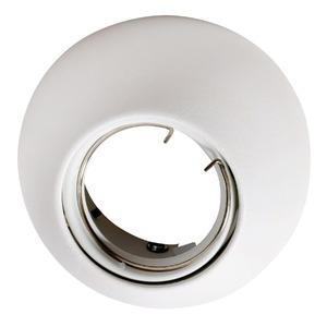 Spot de Embutir Eglo Poli Redondo Aço Branco 50W Bivolt