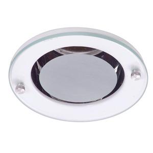 Spot de Embutir JM Redondo Metal Branco 1 Lâmpada Bivolt