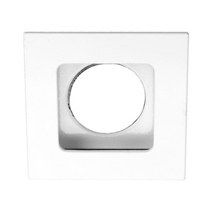 Spot de Embutir Metal Técnica Retangular Metal Branco 1 Lâmpada Bivolt