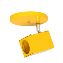 Spot de Sobrepor GU10 Amarelo Bivolt Carre Inspire