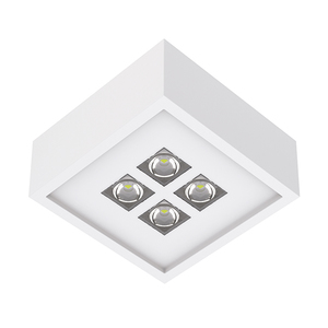 Spot de Sobrepor LED Luz Amarela 4,5W Bivolt Interlight