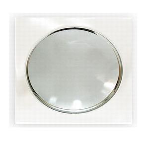 Spot embutir Aço/Alumínio/Vidro Branco Fosco Bronzearte