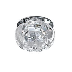 Spot embutir Aço/Vidro Prata Cromado Bella Iluminação
