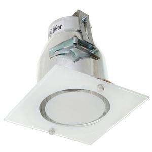Spot embutir Alumínio Branco Semi Fosco JM Iluminação