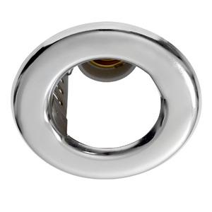 Spot embutir Alumínio Prata Cromado Damafe