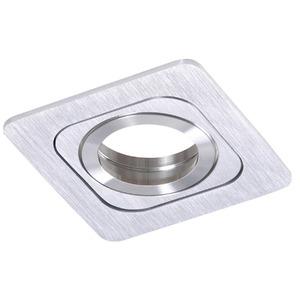 Spot embutir Alumínio Prata Lixado Bella Iluminação