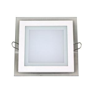 Spot embutir led Acríl./Alumínio/Vidro Branco Semi fosco Bronzearte