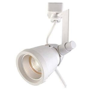 Spot para Trilho LLUM Nexus Redondo Alumínio/Zamak Branco 1 Lamp Bivolt