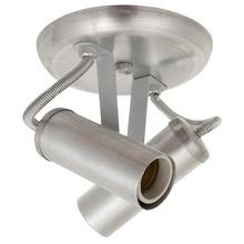 Spot sobrepor Alumínio Prata Escovado JM Iluminação
