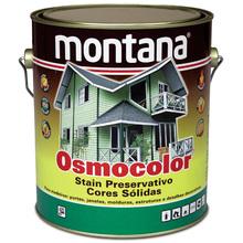 Stain Osmocolor Cores Sólidas Acetinado Branco Neve 3,6L Montana