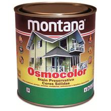 Stain Osmocolor Cores Sólidas Acetinado Branco Neve 900ml Montana