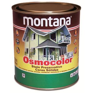 Stain Osmocolor Cores Sólidas Acetinado Marfim 900ml Montana