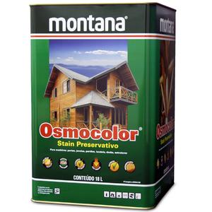 Stain Osmocolor Semitransparentes Acetinado Incolor 18L Montana