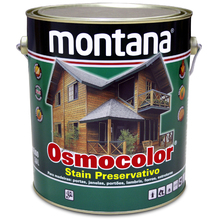Stain Osmocolor Semitransparentes Acetinado Incolor 3,6L Montana