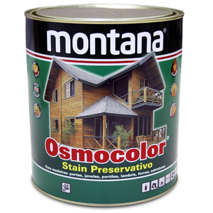Stain Osmocolor Semitransparentes Acetinado Incolor 900ml Montana
