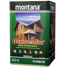 Stain Osmocolor Semitransparentes Acetinado Mogno 18L Montana