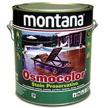 Stain Osmocolor UV Deck Semibrilho Castanho UV Deck 3,6L Montana