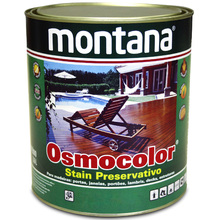 Stain Osmocolor UV Deck Semibrilho Castanho UV Deck 900ml Montana
