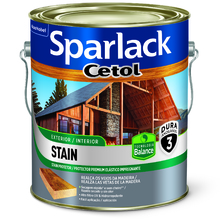 Stain Plus Acetinado Mogno 3,6L Sparlack