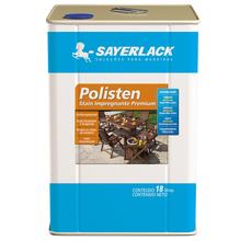 Stain Polisten Clear Fosco Incolor 18L Sayerlack