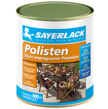 Stain Polisten Clear Fosco Incolor 900ml Sayerlack